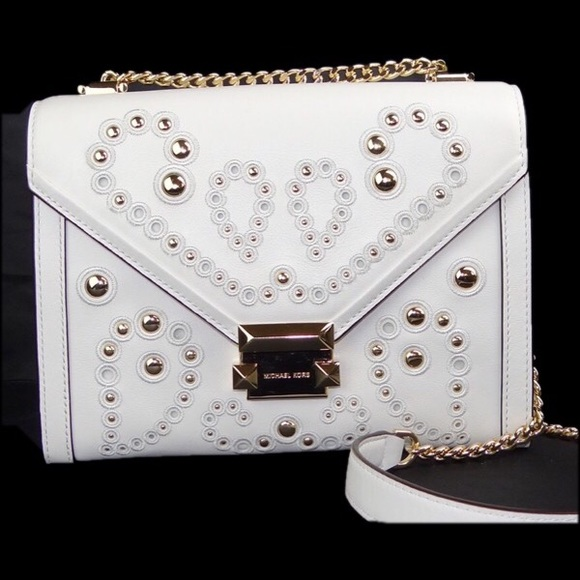 f648a5e6940f Michael Kors Bags | Optic Whitney Large Shoulder Bag | Poshmark